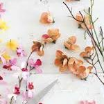 گل مصنوعی دیواری